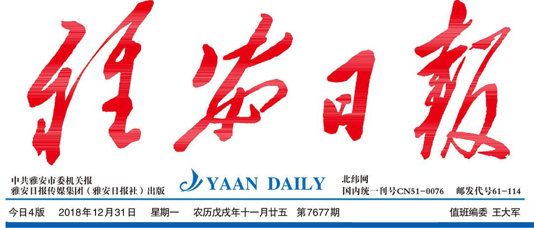 雅安日报登报中心